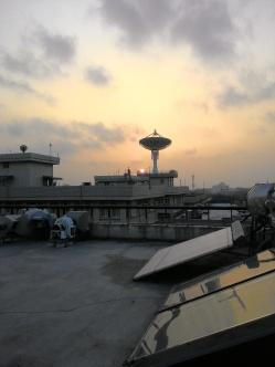 Senja di roof top Mechanical Engineering