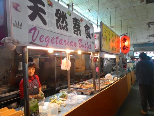 Salah satu penjual di food street