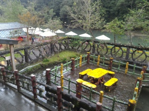 Another good infrastructure of Shifen Waterfall