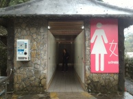 Pretty good toilet for tourisy
