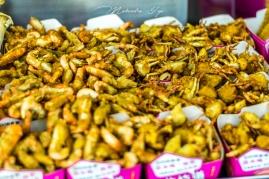 Crab and shrimp fried